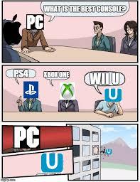 Wii U Meme - boardroom meeting suggestion meme imgflip
