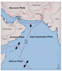 Plate Boundaries Map Sciency Thoughts Magnitude 4 4 Earthquake In Balochistan Province