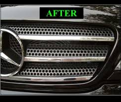 mercedes grill amazon com mercedes w163 ml 1998 2005 chrome grille grill kit