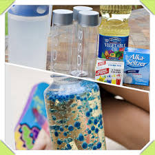 diy lava lamp vegetable oil water bottle s food colouring