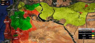 Syria Situation Map by Northern Syria Battlefront Sees Dramatic Change In 2017 Map