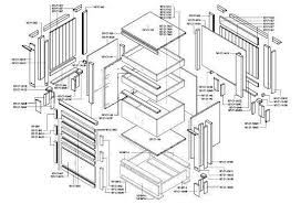 kitchen cabinets details cad kitchen cabinet details shop drawings autocad pinterest