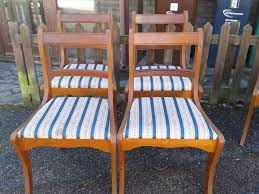 Yew Dining Table And Chairs 4 Dining Chairs Regency Style Yew Wood Carved 1 Wood Chair