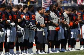 Flag Football Chicago Bears Issue Statement On President Trump U0027s Comments Steelers