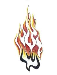 30 best flame tattoo outline designs images on pinterest tattoo