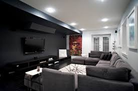 gorgeous modular sectional sofa in home theater contemporary with