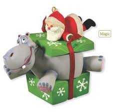 2012 i want a hippopotamus for hallmark magic ornament