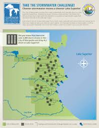 Map Of Lake Superior Water Quality And Stormwater Management Superior Watershed
