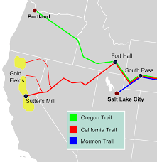 Oregon Trail Maps by List Of Trails In Sublette County Wyoming Wikipedia