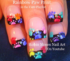 colorful animal prints nail art design tutorial best nail 2017