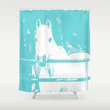 horse shower curtains scalisi architects