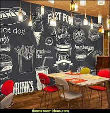 kitchen wall mural ideas blackboard wallpaper murals food wallpaper murals bistro kitchen