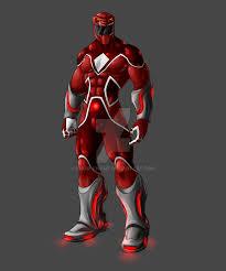 red ranger kname deviantart