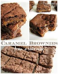 check out sinful caramel brownies it u0027s so easy to make