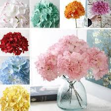 ship flowers 2018 dhl ship artificial hydrangea silk flowers wedding