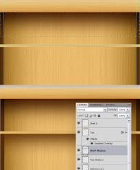 Create Wood Shelf Photoshop by Create An I Pad Inspired Bookshelf Using Photoshop Tech Talk Blog