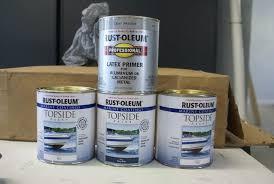 rustoleum u0026 aluminum boats tinboats net