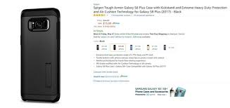 samsung amazon black friday deal amazon has big discounts on spigen u0027s galaxy s8 and s8 plus cases