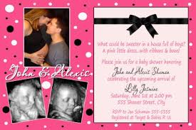 baby shower picture invitations theruntime