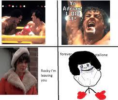 Stallone Meme - rocky meme