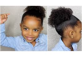 how to create full ponytail for short curly hair for kids
