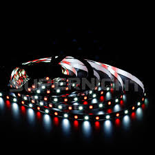 color led light strips supernight white color mixed led strip light for christmas
