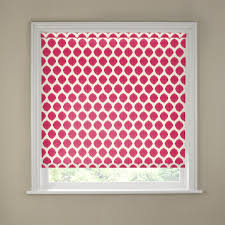 red ikat roller blind various sizes kitchen decor pinterest
