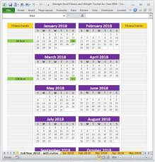 11 best fitness planner and weight tracker excel spreadsheet