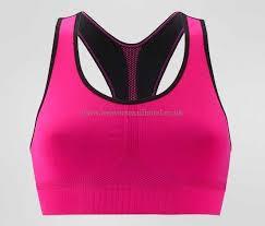 light pink sports bra tchibo black pink light underwear new for women reversible sports