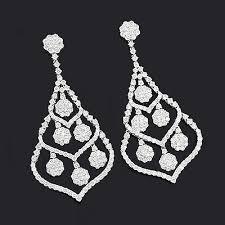chandelier earring chandelier earrings 10 11ct 18k gold