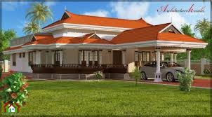 gorgeous 3 bhk in single floor house elevation architecture kerala