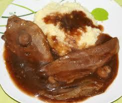 madere cuisine langue de boeuf sauce madère amafacon