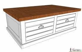 Free Wood Plans Coffee Table by Crate Storage Coffee Table And Stools Her Tool Belt