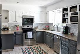 kitchen grey oak stain white stained kitchen cabinets grey and