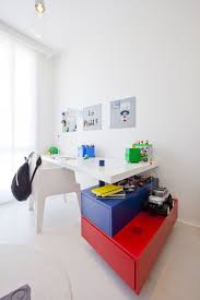 contemporary lego style study table for kids best study table