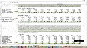 income cash flow worksheet excel statement trial balance worksheet