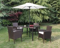 6 Piece Patio Set by 6 Piece Patio Set With Umbrella 32205p Patio Products Just