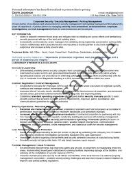 Risk Management Resume Samples by Résumé Samples Chesepeake Career Management Services