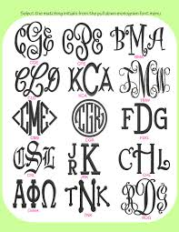 initial monogram fonts pictures of monogramming use your back button to return to your