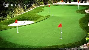 triyae com u003d artificial grass backyard putting greens various