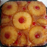 pineapple upside down cake doctored up from a box quick and easy