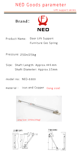 kitchen cabinet brand names aliexpress com buy ned 250n 25kg force door lift support