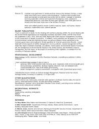 basic environmental scientist resume template page 4