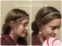 headband roll up jewels cool hairstyles
