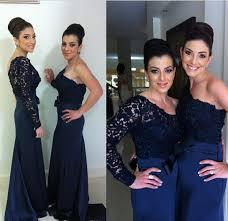 lace bridesmaid dress long bridesmaid gown navy blue bridesmaid