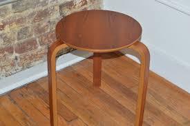 Danish Modern Furniture Alvar Aalto Teak Stool Mid Century Modern Danish Modern