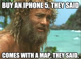 Funny Meme Photo - buy iphone comes with map funny meme funny memes