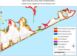 New York Area Map by Sea Level Rise Planning Maps Likelihood Of Shore Protection