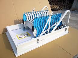 l 02 hottest deluxe concertina telescopic electric attic ladders