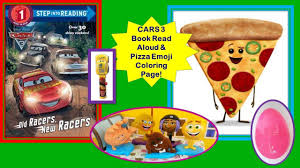 emoji movie coco cars 3 lightning mcqueen read along surprise